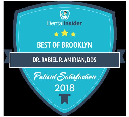 Dr Rabiel R. Amirian Dds - Dental Insider Award 2018 - Best Of Brooklyn For Dental Parient Satisfaction